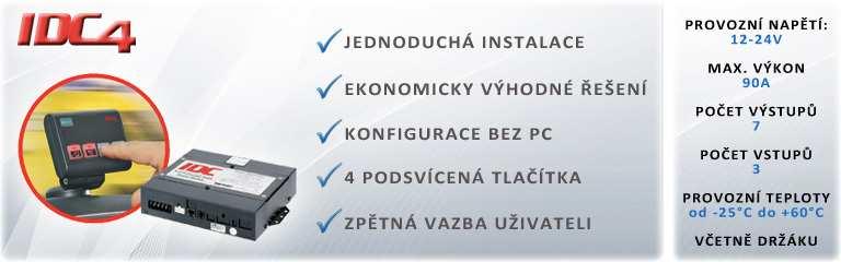 Ovládací systém IDC4