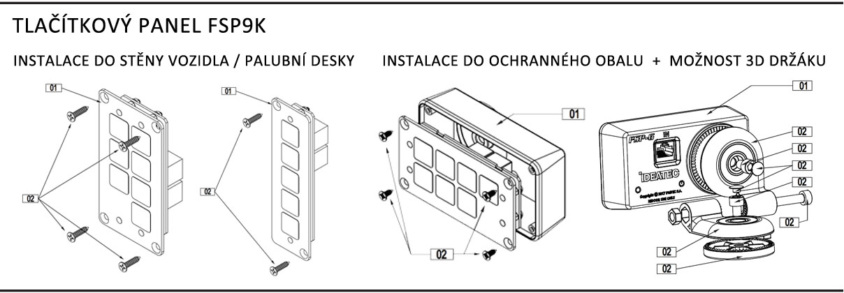 instalace panelu fsp