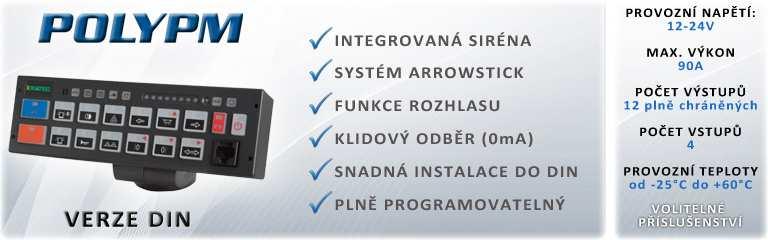 Ovládací system PolyPM s možností instalace do DIN