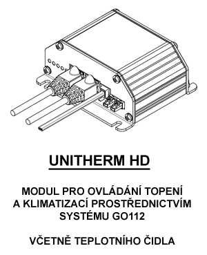 Unitherm HD - modul pro ovládání topení a klimatizace