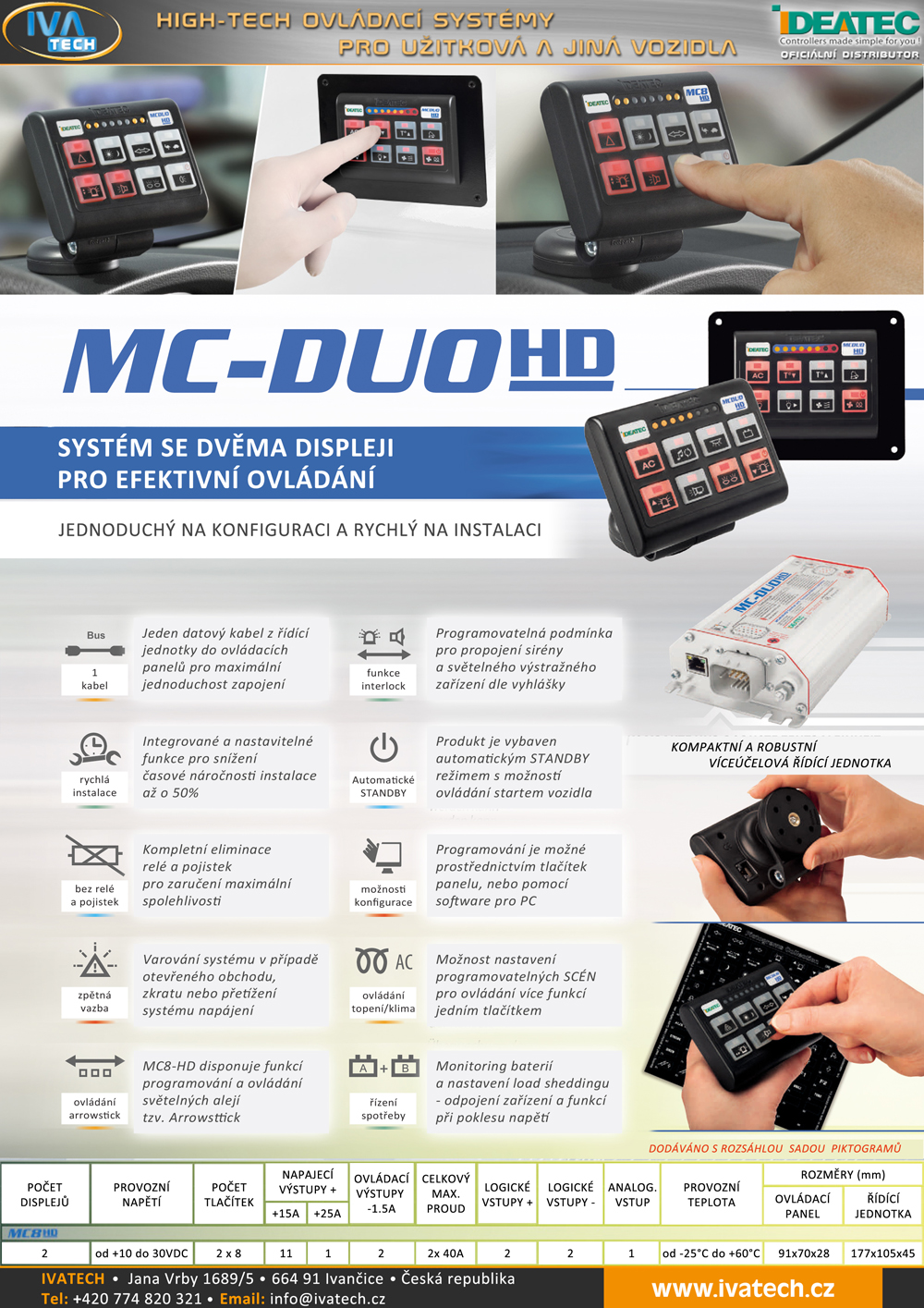 ideatec mc-duo hd
